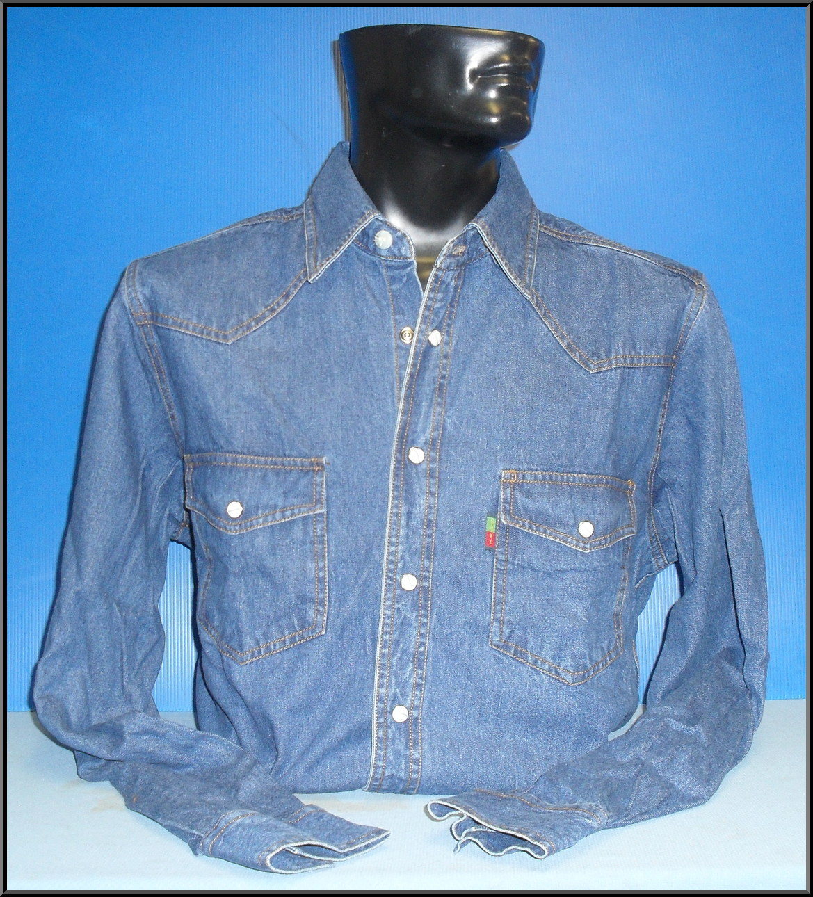 Denim Shirt Stonewash